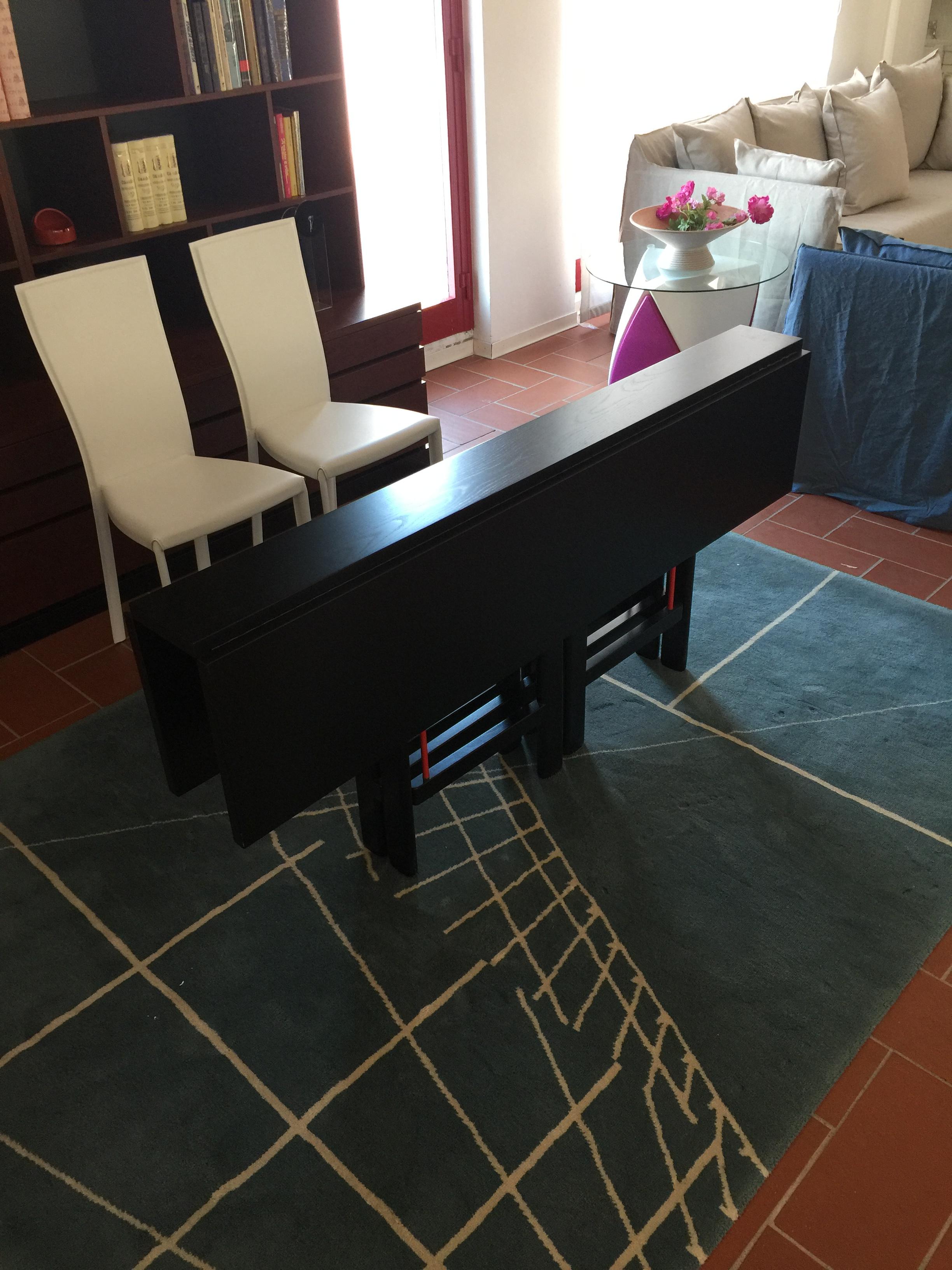 Tavolo consolle longhi modello 256 barlozzini mobili for Longhi arredamenti
